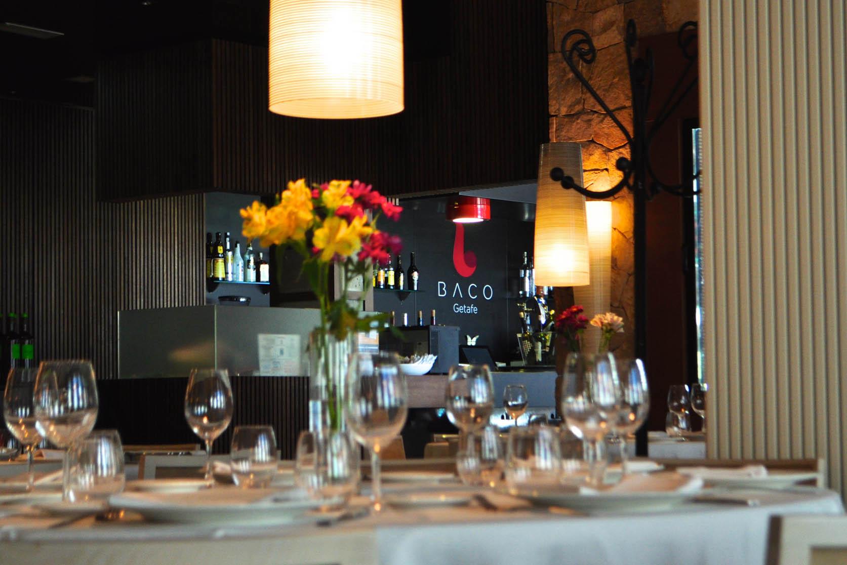 Baco restaurante getafe restaurante moderno elegante y - Vinotecas madrid centro ...